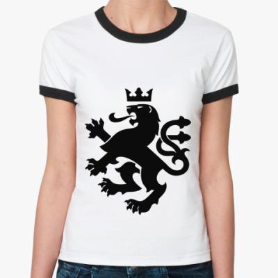 Женская футболка Ringer-T геральдика