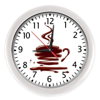 Настенные часы Горячий шоколад