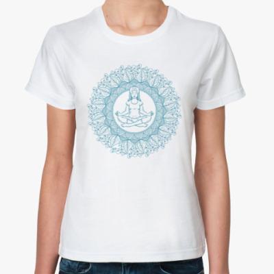 Классическая футболка Медитация