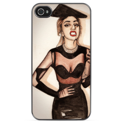 Чехол для iPhone LADY GAGA