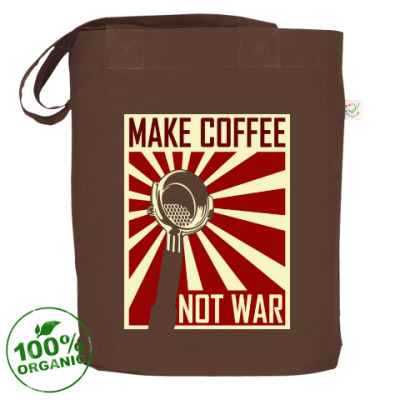 Сумка Make Coffee Not War