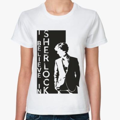 Классическая футболка SHERLOCK