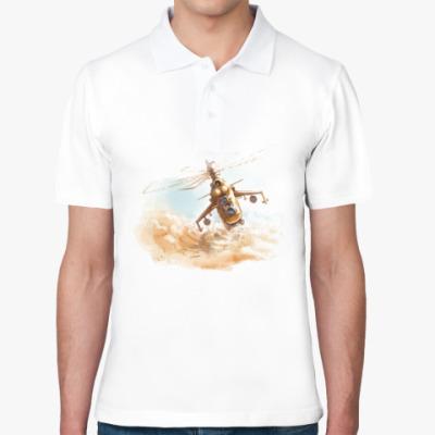 Рубашка поло МИ-24 Вертолеты России
