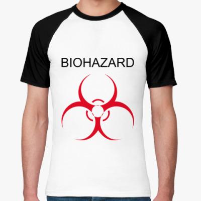 Футболка реглан Biohazard
