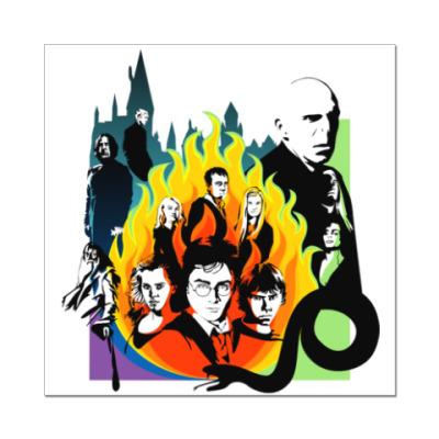 Наклейка (стикер) Гарри Поттер