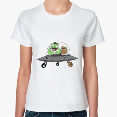Классическая футболка Неопознаный Летающий Шамиль