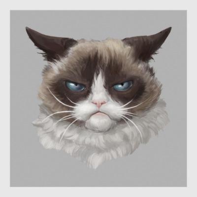 Постер Grumpy Cat / Сердитый Кот