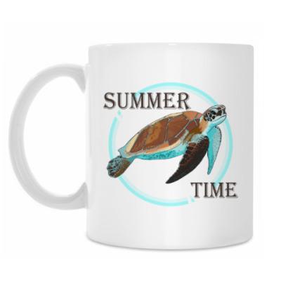 Кружка Лето Черепаха Summer time