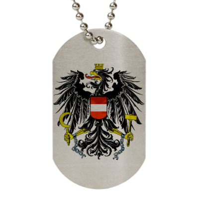 Жетон dog-tag Герб Австрии