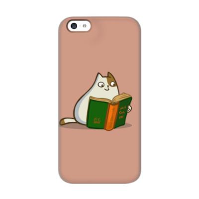 Чехол для iPhone 5c Пятничный Котик №19
