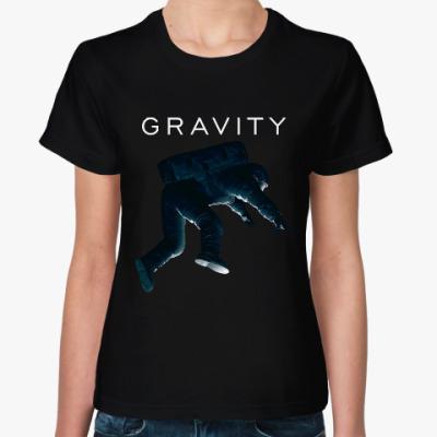 Женская футболка Gravity