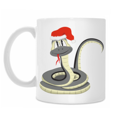 Кружка Новогодняя змейка