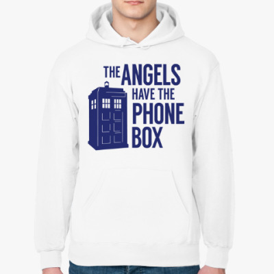 Толстовка худи The Angels Have The Phone Box