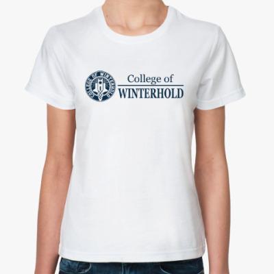 Классическая футболка Skyrim . College of Winterhold