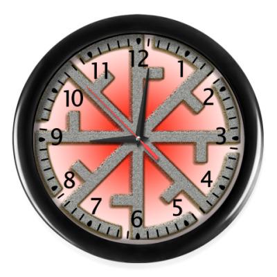 Настенные часы Оберег