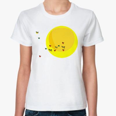 Классическая футболка Перелётные коты