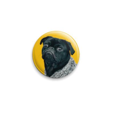 Значок 25мм Инфернальный пёс