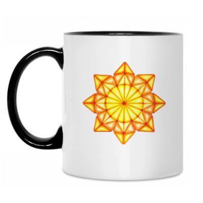 Кружка Мозаичное солнце