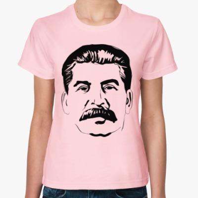 Женская футболка Иосиф Сталин