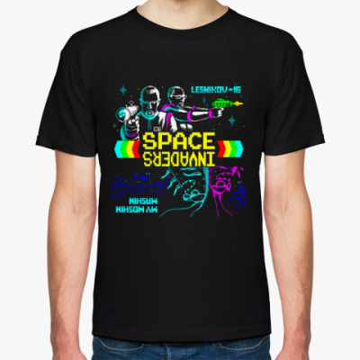 Футболка Lesnikov-16 ''Space Invaders''