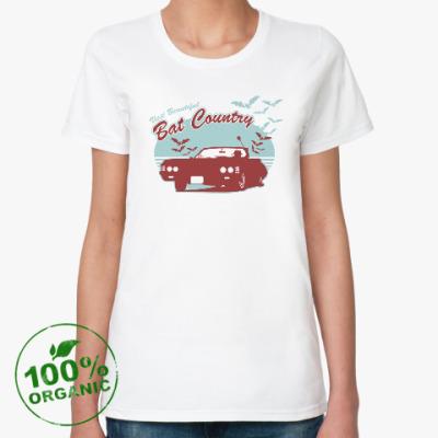 Женская футболка из органик-хлопка Visir Beautiful Bat Country