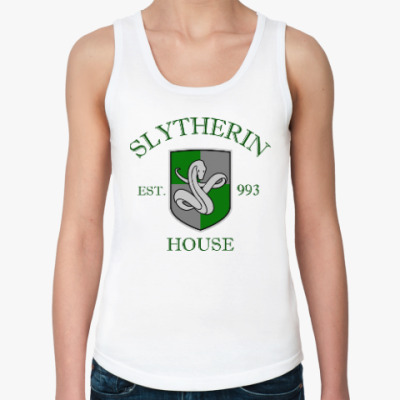 Женская майка Slytherin