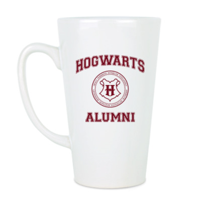Чашка Латте Hogwarts Alumni