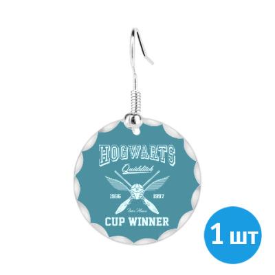 Серьги Hogwarts Quidditch Cup Winner