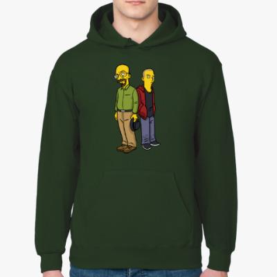 Толстовка худи Breaking Bad Simpsons
