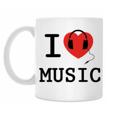 Кружка I Love Music