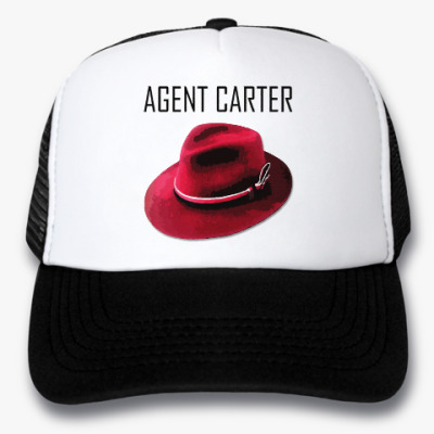 Кепка-тракер Agent Carter