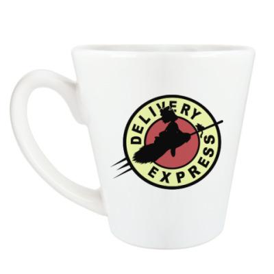 Чашка Латте Ведьмина служба доставки