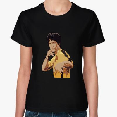 Женская футболка Bruce Lee