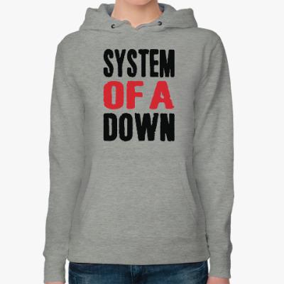 Женская толстовка худи System Of A Down