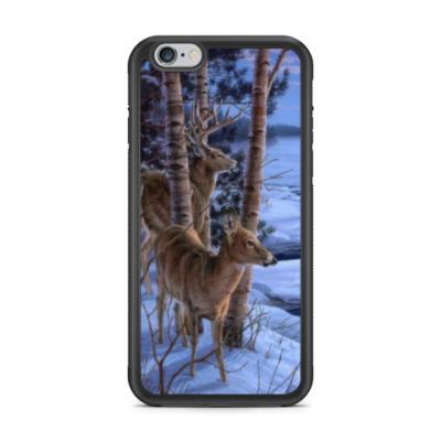 Чехол для iPhone олени