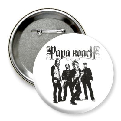 Значок 75мм Papa Roach Group