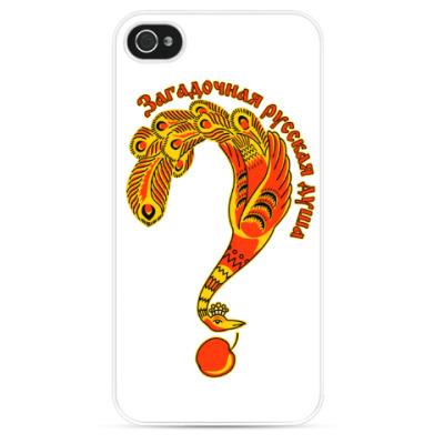 Чехол для iPhone Загадочная русская душа