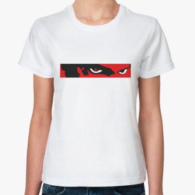 Классическая футболка 'взгляд'