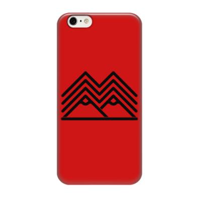 Чехол для iPhone 6/6s Символ Твин Пикс Twin Peaks