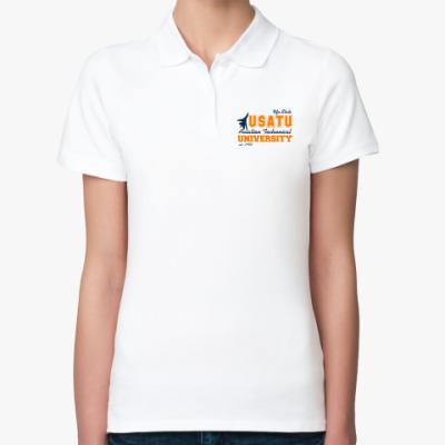 Женская рубашка поло УГАТУ