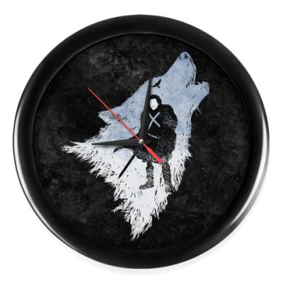 Настенные часы Игра Престолов: Джон Сноу