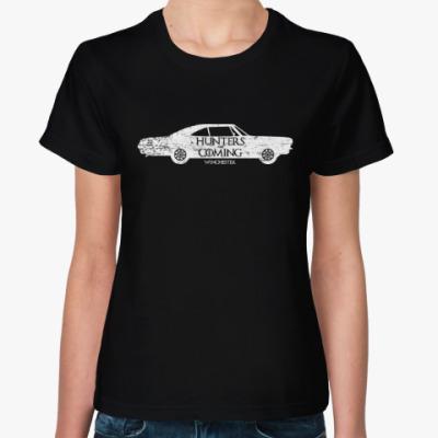 Женская футболка Hunters Coming