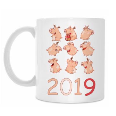 Кружка 2019 год Свиньи