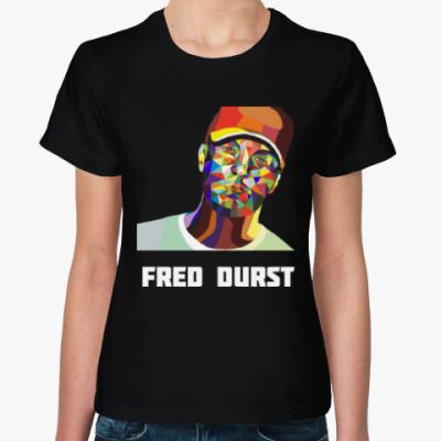 Женская футболка Fred Durst