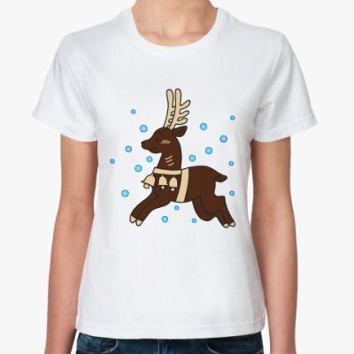 Классическая футболка Олененок