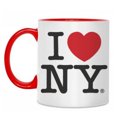 Кружка 'I love NY'