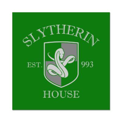 Наклейка (стикер) Slytherin