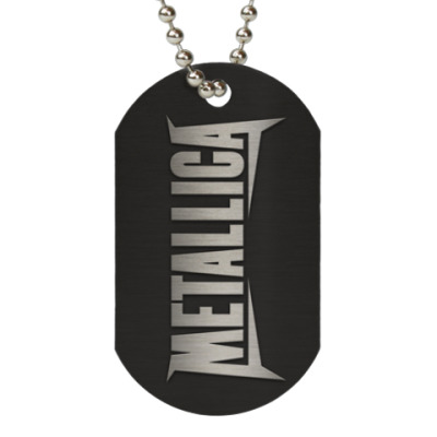 Жетон dog-tag Metallica