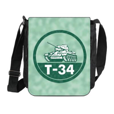 Сумка на плечо (мини-планшет) Танк Т-34