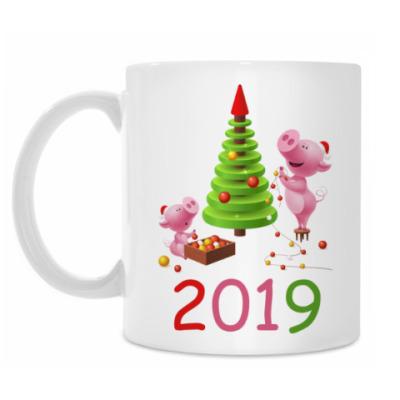Кружка Свинья 2019